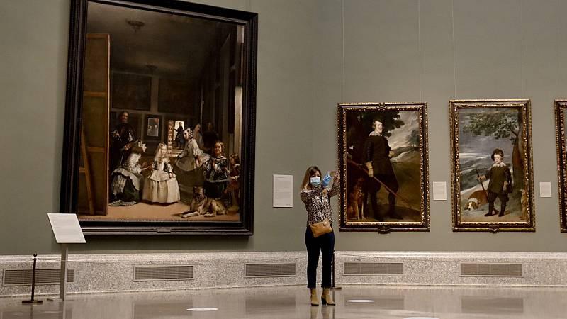 El 'reencuentro' del Museo del Prado y la nueva normalidad de 'Las meninas'