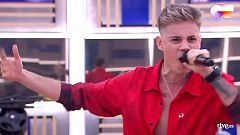 """OT 2020 - Hugo canta """"Radioactive"""" en el primer pase de micros de la Gala Final de Operación Triunfo"""
