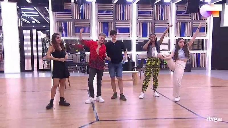 """OT 2020 canta """"Díselo a la vida"""" en el primer pase de micros de la Gala Final de Operación Triunfo"""