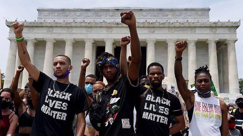 Washington se moviliza en una gran marcha contra el racismo