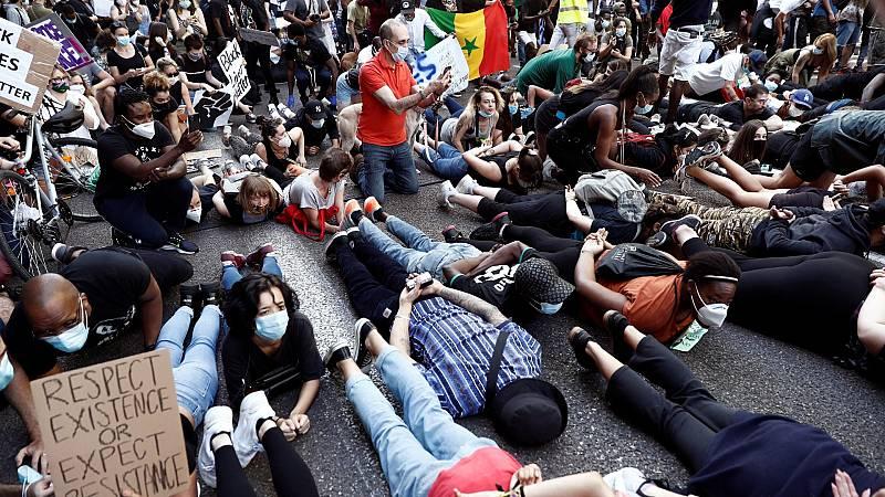 Concentraciones en toda España contra el racismo tras la muerte de George Floyd