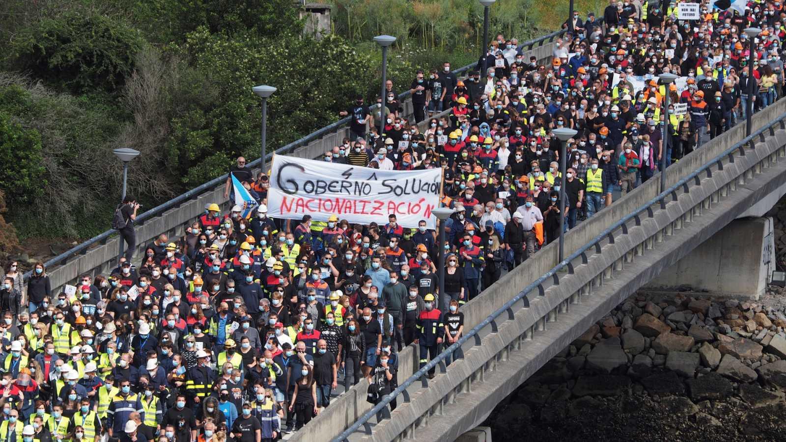 Vídeo: Decenas de miles de personas vuelven a manifestarse para exigir soluciones para Alcoa