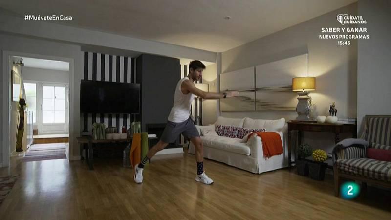 Muévete en casa - ¡Prepara el cuerpo con un calentamiento completo!