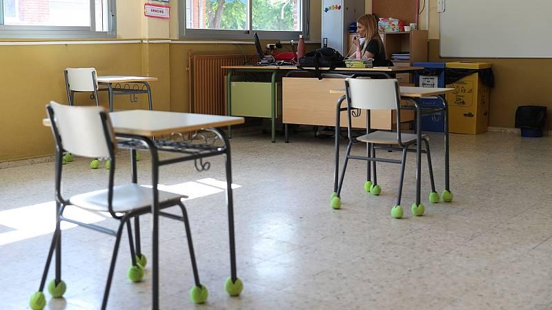Los colegios reabren parcialmente en la Fase 2 con aulas mayoritariamente vacías