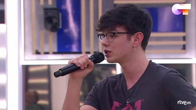 """Flavio canta """"Death Of A Bachelor"""", de Panic! At The Disco, en el segundo pase de micros de la Gala Final de Operación Triunfo 2020"""