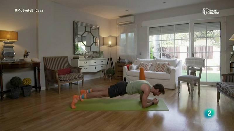 Muévete en casa - Bloque 1: Ejercicios de suelo que fortalecerán nuestros glúteos