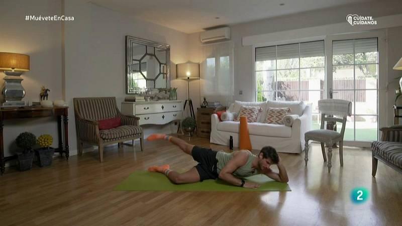 Muévete en casa - Bloque 2: Ejercicios de plancha y abdomen