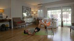 Muévete en casa - Programa 57 (Glúteos y abdomen)