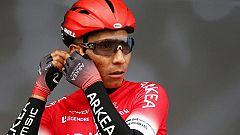 """Nairo Quintana: """"El objetivo es estar, mínimo, en el podio del Tour"""""""