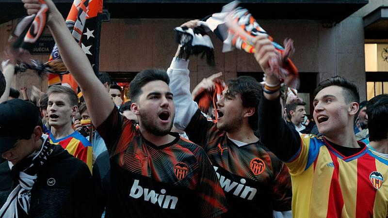Nuevo objetivo del fútbol sin espectadores: evitar las aglomeraciones en los aledaños del estadio