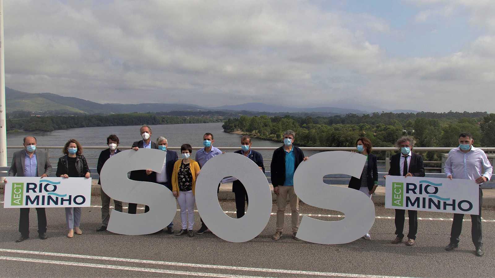 Los alcaldes de la frontera del río Miño piden la apertura de más puentes