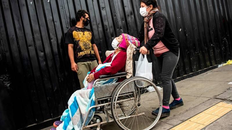 Perú no logra frenar el coronavirus con casi 200.000 contagios