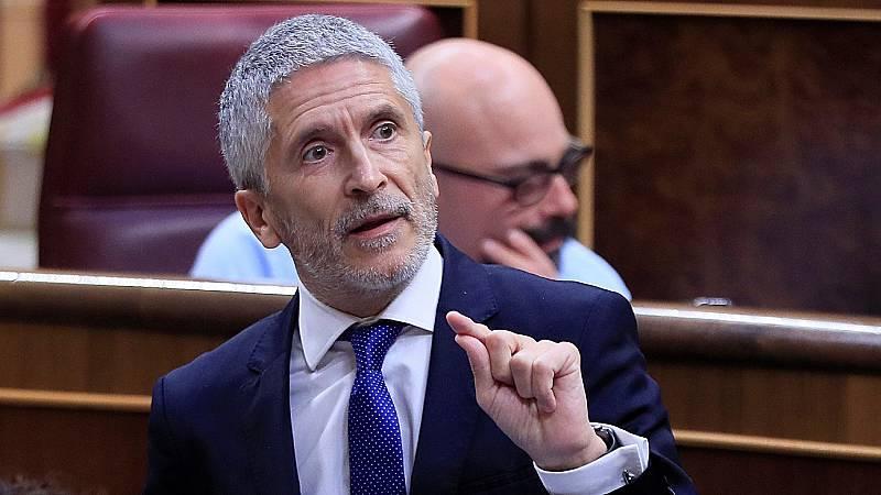 "Vox acusa a Marlaska de ""mentir"" en el cese de Pérez de los Cobos y de ""odiar"" a la Guardia Civil"