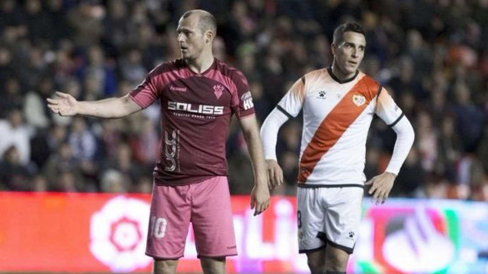 El Albacete ya está en Madrid para medirse al Rayo Vallecano