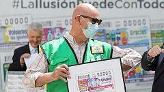 La ONCE vuelve a los sorteos homenajeando a los trabajadores esenciales durante la pandemia