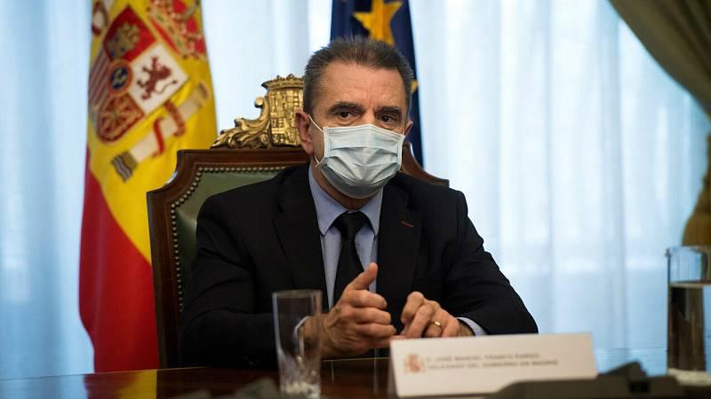 "Franco: ""No me hago responsable del 8M"""