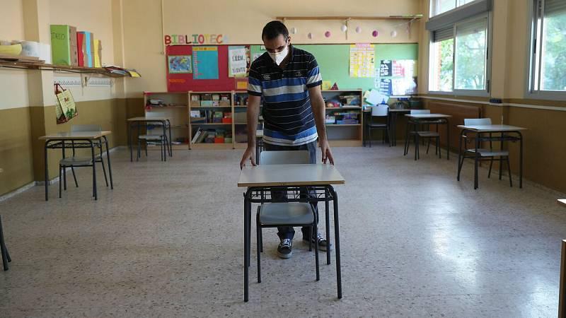 Sanidad asegura que la vuelta al colegio será con precaución
