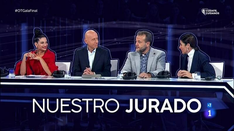 Los mejores momentos del jurado de OT 2020