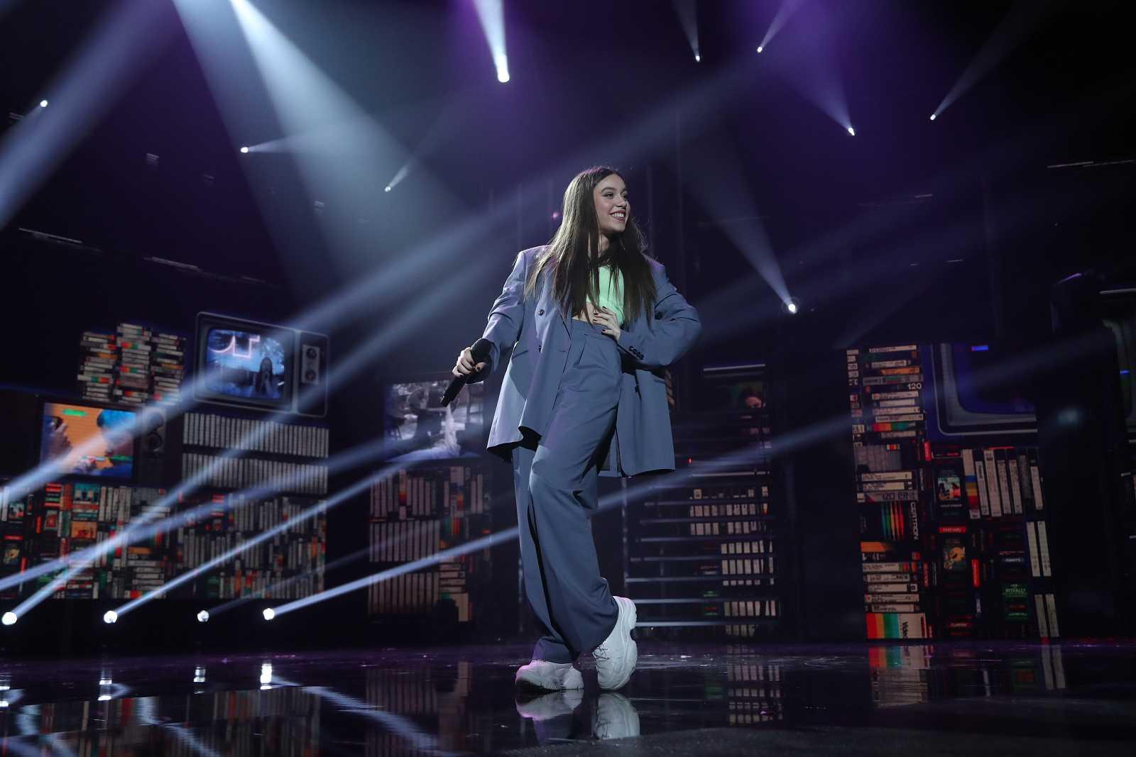 """OT 2020 Eva canta """"Dumb"""" en la Gala Final de Operación Triunfo"""