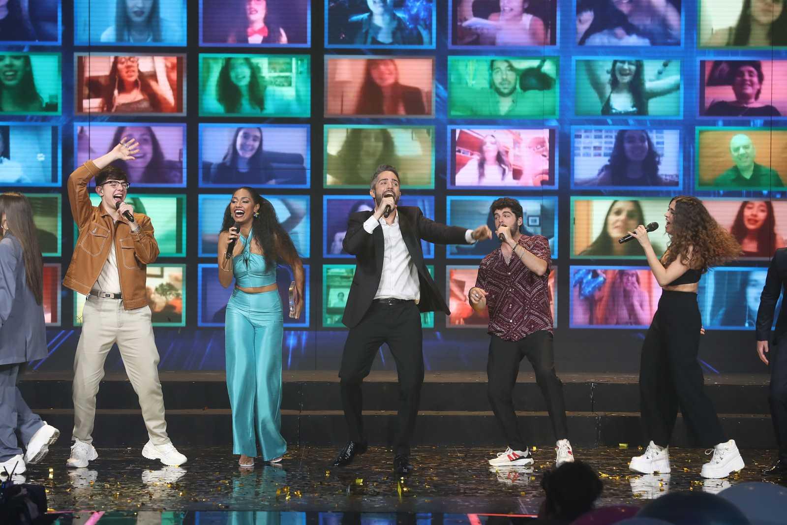 """OT 2020 canta """"Díselo a la vida"""", de Rafa Romera, en la Gala Final de Operación Triunfo 2020"""