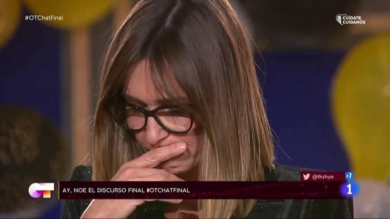 Noemí despide Operación Triunfo 2020 en El Chat