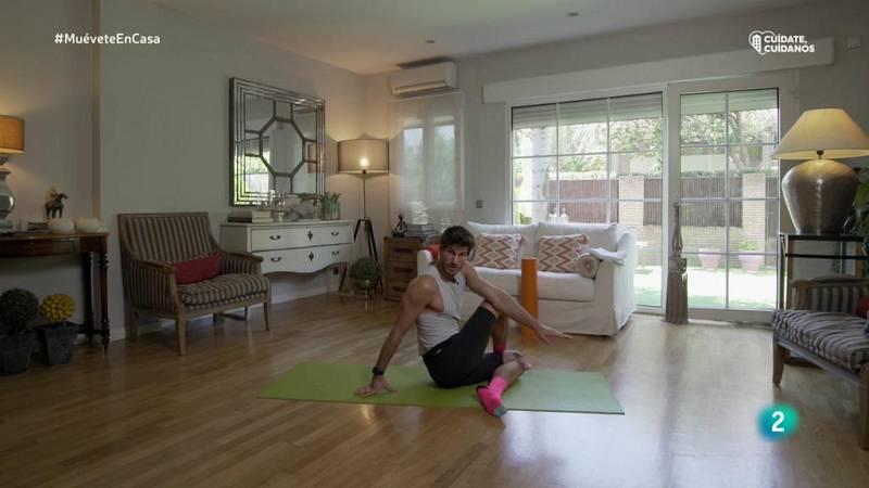 Muévete en casa - Clase yoga y pilates parte 2