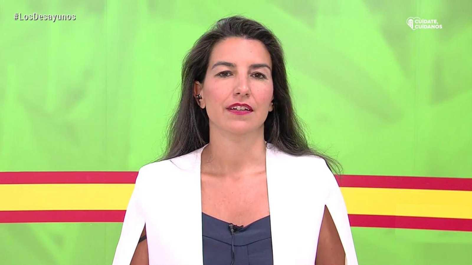 Los desayunos de TVE - Rocío Monasterio, portavoz de VOX en la Asamblea de Madrid y Gaspar Llamazares, ex coordinador general de IU - ver ahora