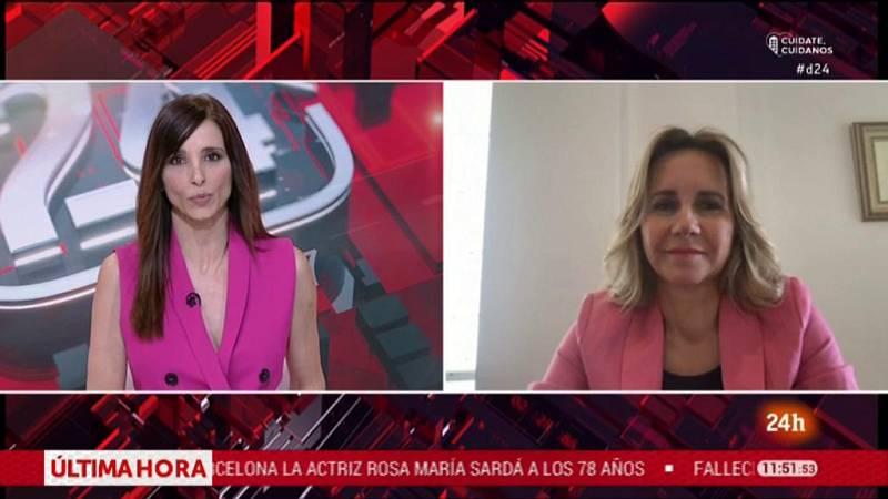 """Ana Bujaldon, presidenta de FEDEPE: """"La recuperación económica tiene que afrontarse con perspectiva de género""""."""