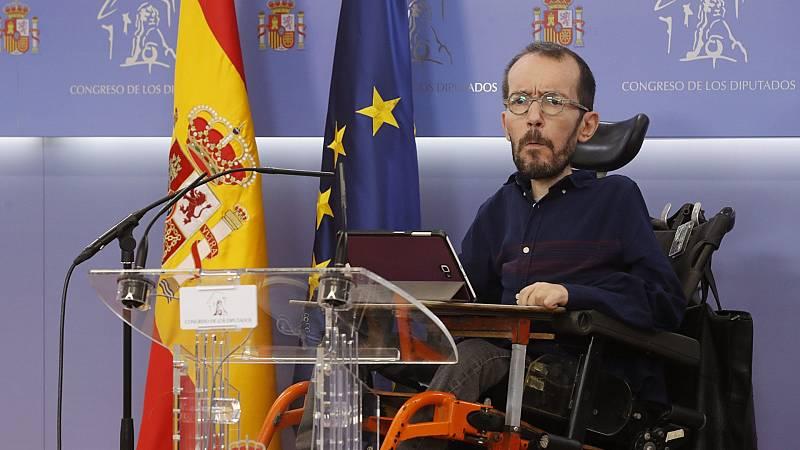 """Echenique sobre las palabras de González sobre el Gobierno: """"No voy a entrar en polémica"""""""