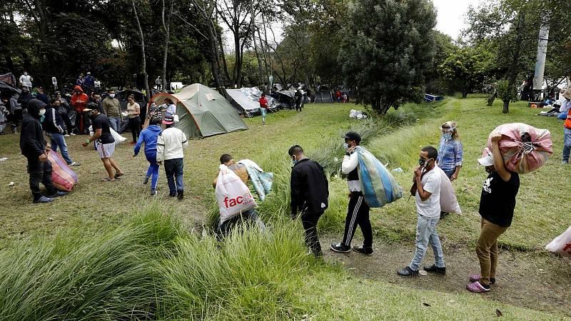 El coronavirus empuja a miles de venezolanos a regresar a su país
