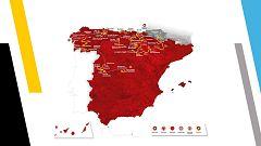 Así será el recorrido de La Vuelta Ciclista a España 2020