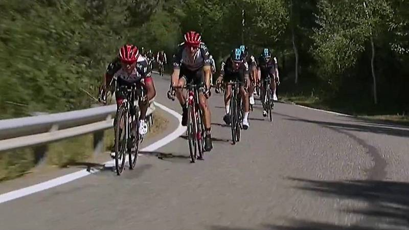 Ciclismo - Vuelta ciclista a España 2017. 3ª etapa: Prades-Andorra - ver ahora