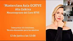 Masterclass Aula OCRTVE Alla Zaikina 12 de junio