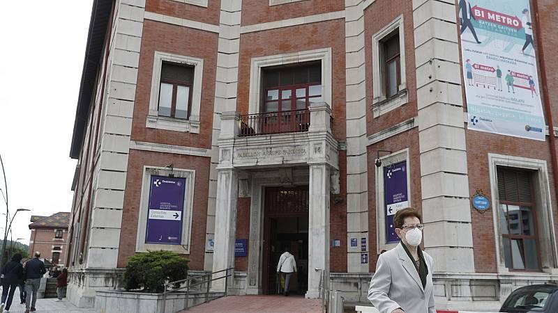 Test para los trabajadores del Hospital de Basurto por el brote de coronavirus