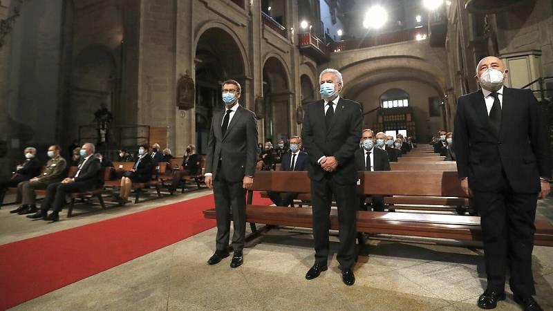 Coronavirus - Galicia homenajea a las víctimas de la COVID-19 con una ceremonia en Santiago