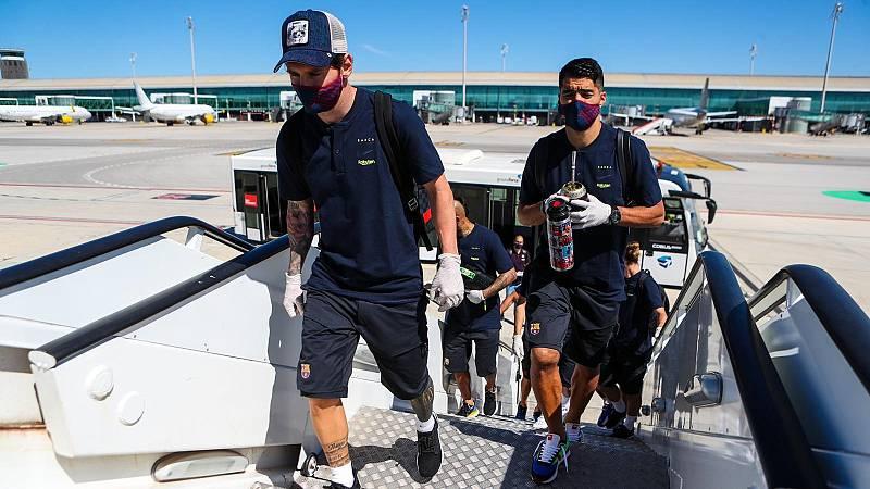 Mallorca y Barça, duelo estrella de este sábado en el regreso del fútbol