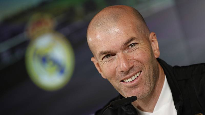 """Zidane: """"El Di Stéfano es nuestro estadio. Nos adaptamos a lo que toca"""""""