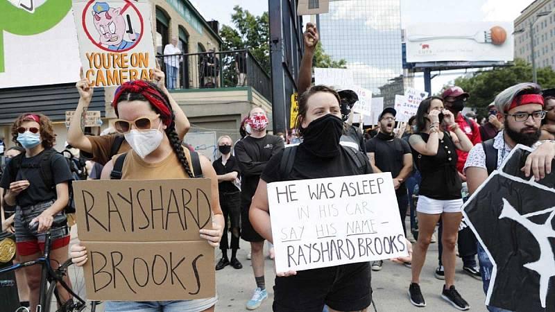Nueva oleada de protestas en Estados Unidos por la muerte de otro joven afroamericano a manos de un policía