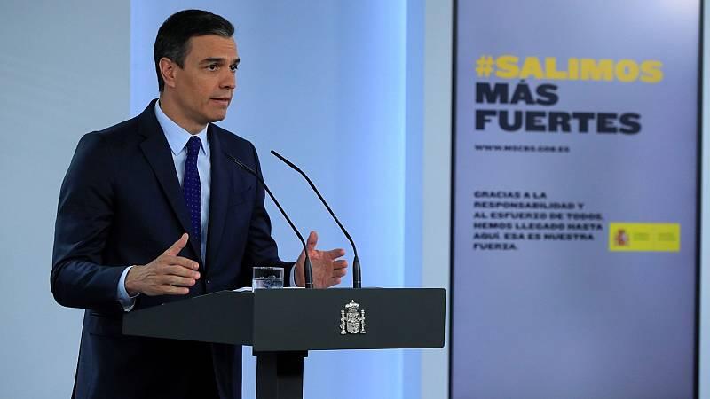 """Sánchez apela a la """"unidad"""" para lograr unos presupuestos: """"Tendemos la mano a todas las fuerzas políticas"""""""