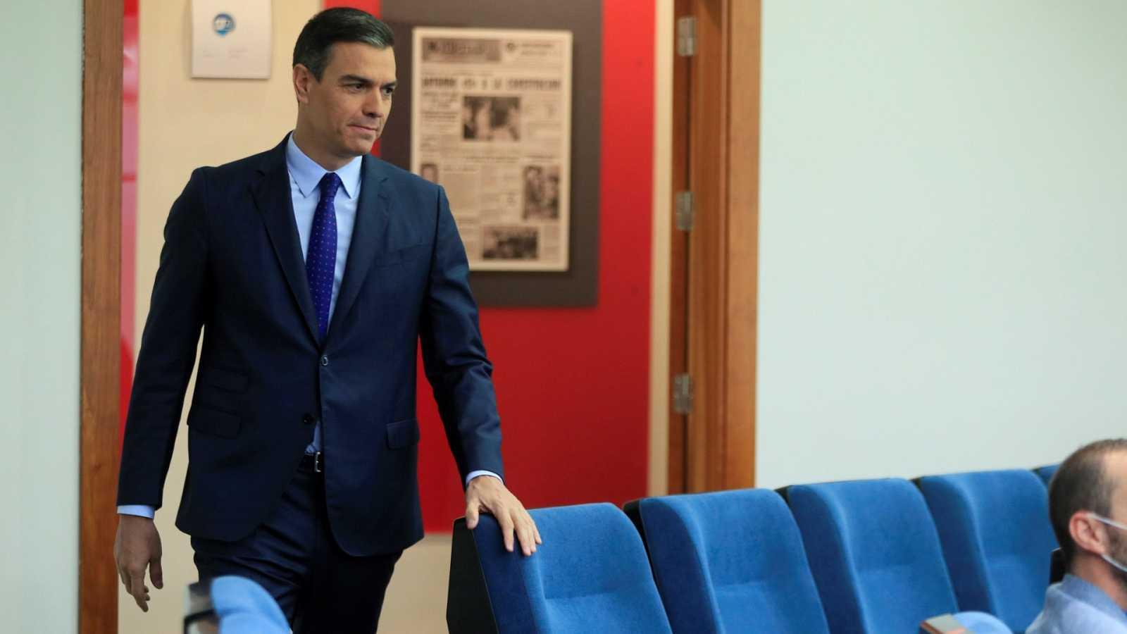 """Sánchez pide """"unidad"""" para aprobar los Presupuestos con """"acuerdos transversales"""""""