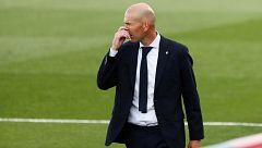 """Zidane: """"Nos relajamos en la segunda parte"""""""