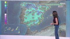 Lluvias en el norte peninsular y en el noreste de Cataluña y poco nuboso en el resto