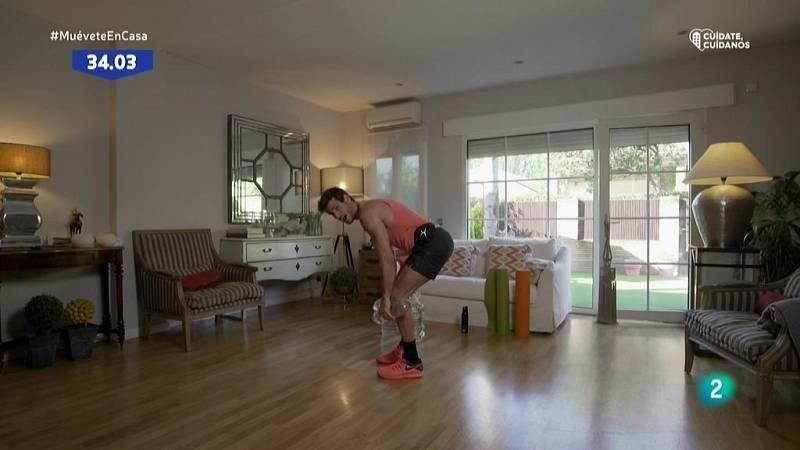 Muévete en casa - Bloque 2: Trabajo de fuerza