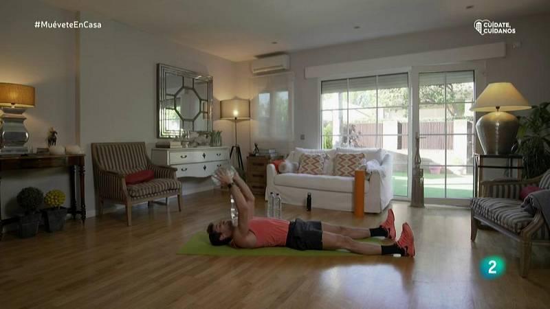 Muévete en casa - Bloque 3: Trabajo de la fuerza con core