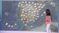 Lluvias en la mitad norte y ascenso térmico en el Valle del Guadalquivir