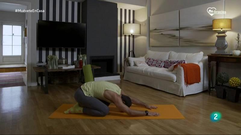 Muévete en casa - ¡Prepara el cuerpo para una clase de pilates!