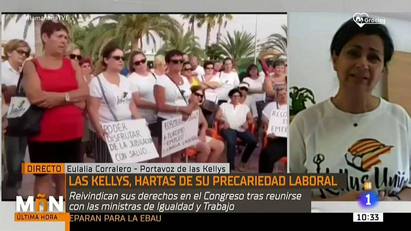 """Las Kellys: """"Nos dijeron que es complicado derogar la reforma laboral"""""""