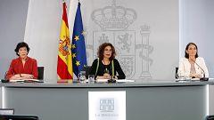 Especial informativo - Comparecencia de la ministra portavoz, ministra de Educación y ministra de Industria y Turismo - 16/06/20