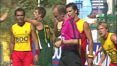Hockey hierba - Champions Trophy 2006, 3º y 4º puesto: España - Australia. Desde Terrassa (Barcelona)
