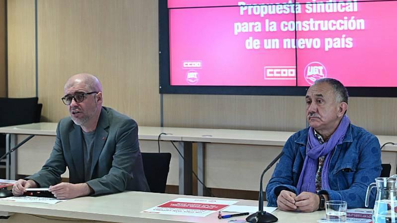 """Los sindicatos reconocen """"escollos"""" en la negociación de los ERTE pero descartan una ruptura del diálogo"""